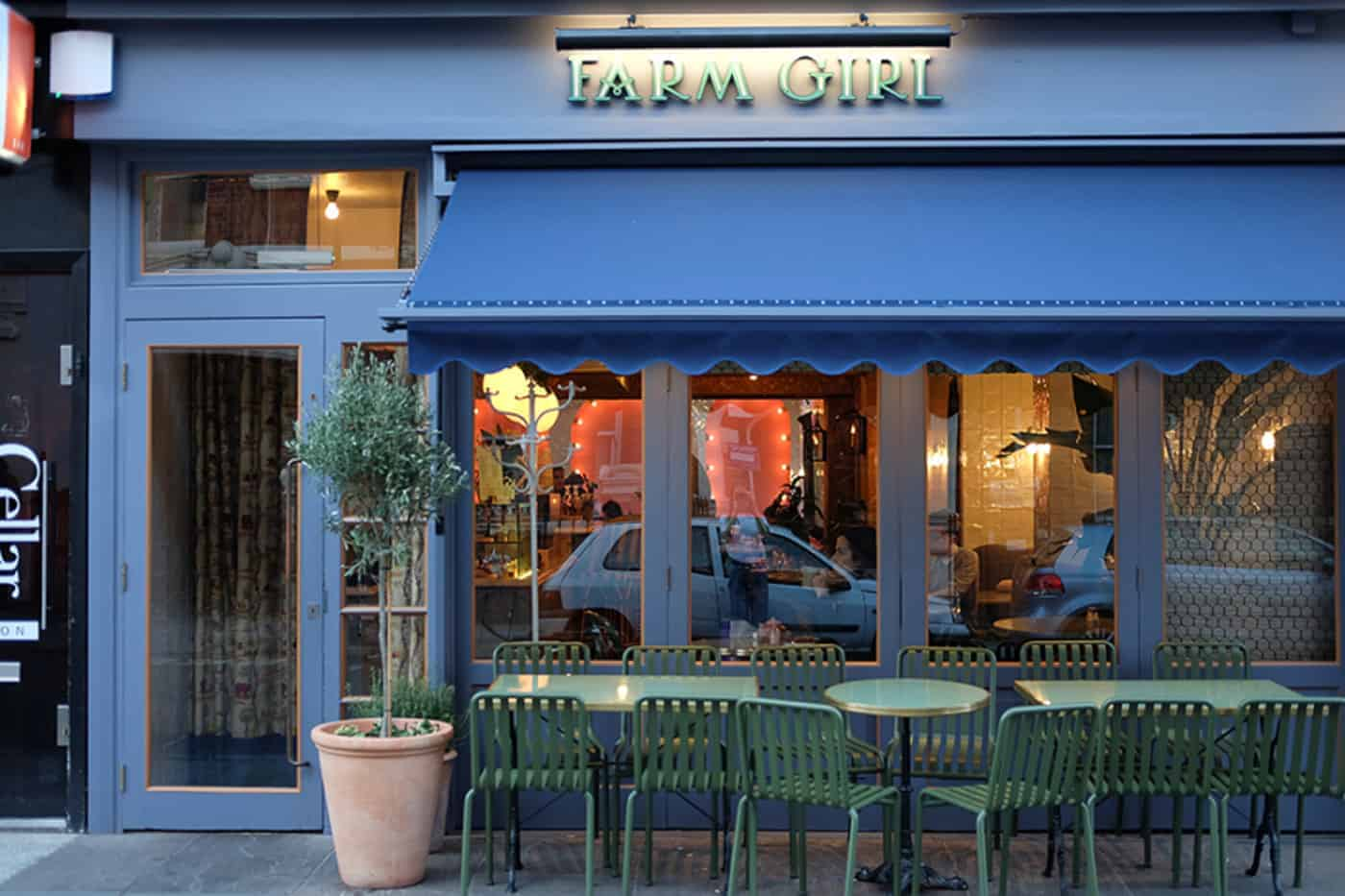 farm girl cafe in notting hill